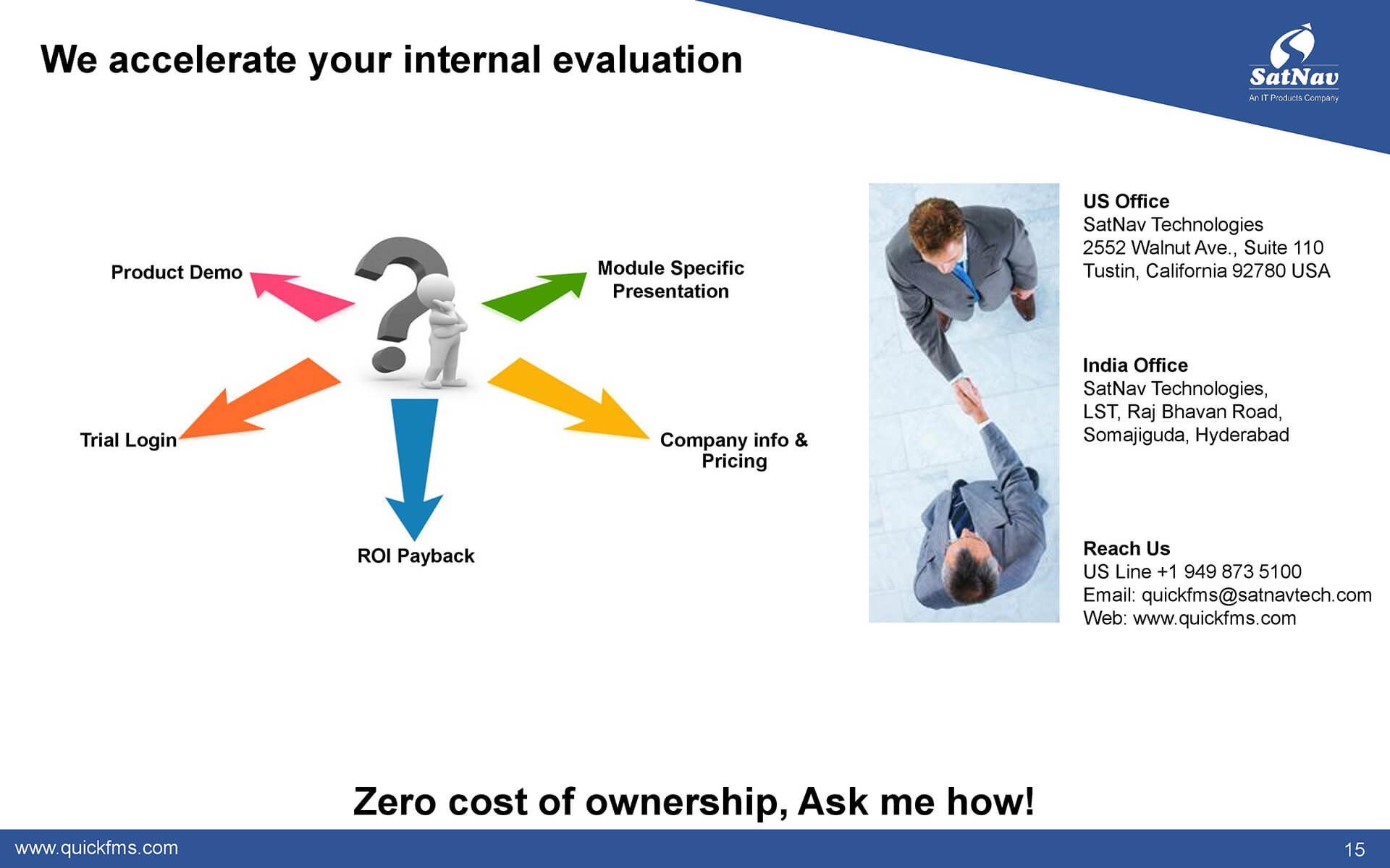 Accelerate your internal evaluation