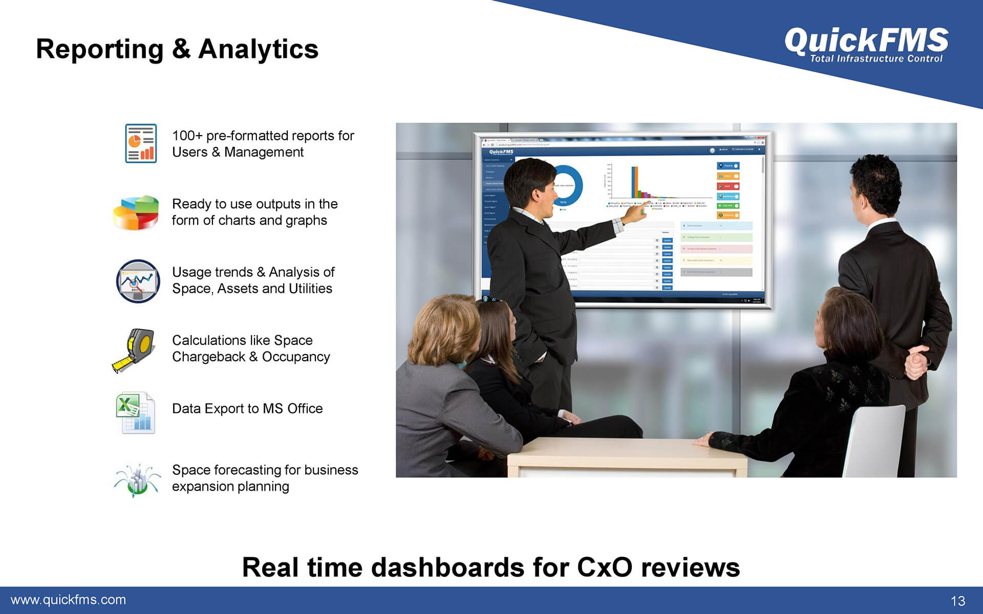Overview presentation on Reporting & Analytics