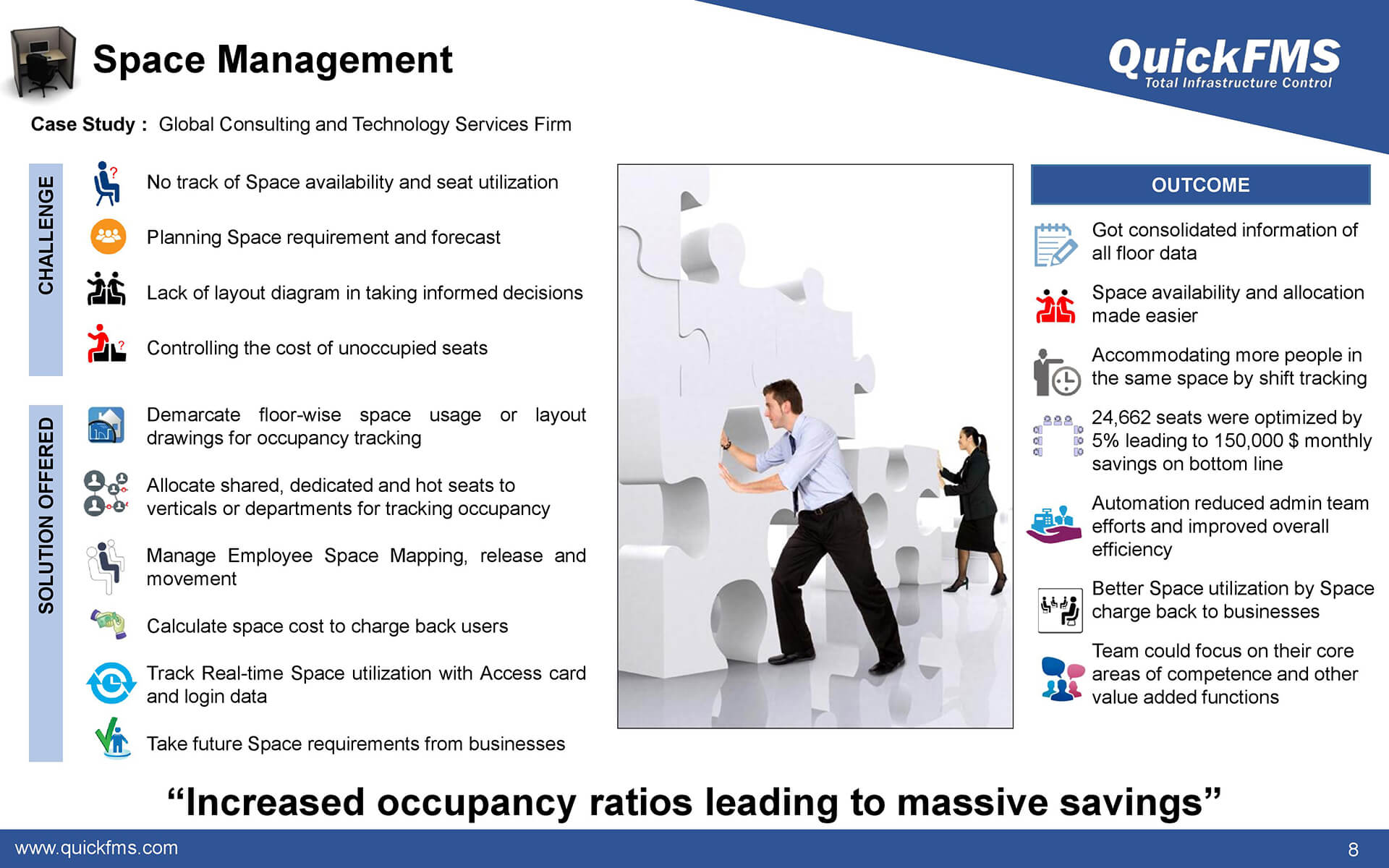 Overview presentation on Space Management - QuickFMS