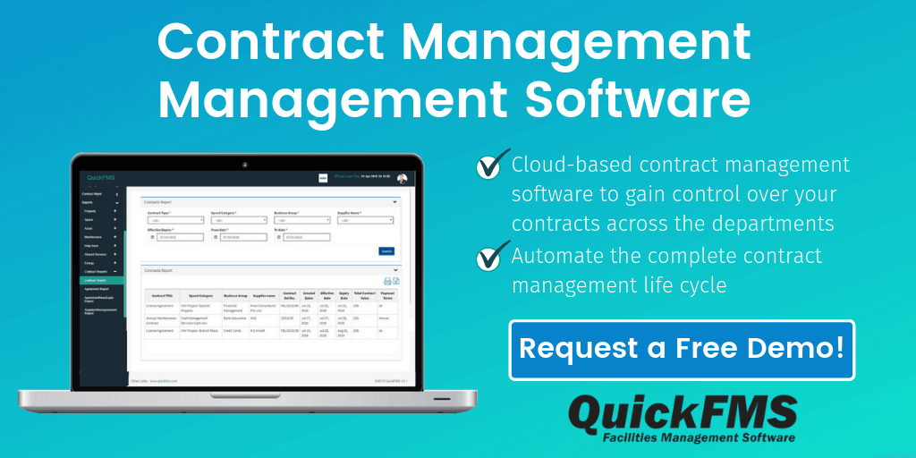 Cloud Based Contract Management Software by QuickFMS